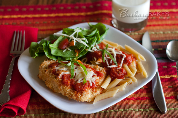 Lighter Chicken Parmesan Recipe