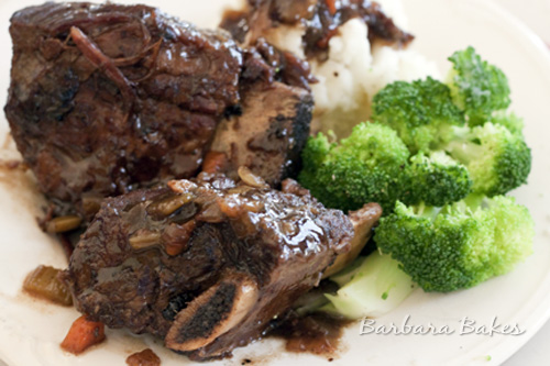 Braised Beef Short Ribs Barbara Bakes