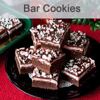 Peppermint Candy Cane Brownies