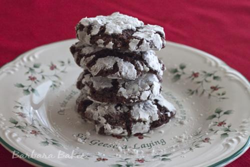 Black Forest Crinkle Cookie Recipe | Barbara Bakes