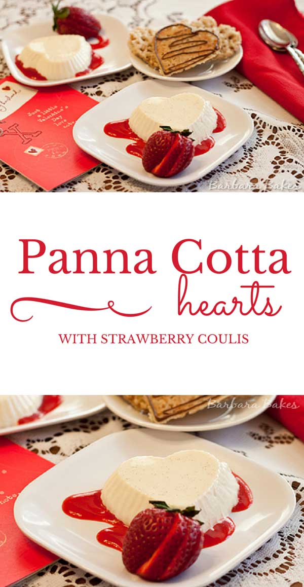 Panna Cotta is a smooth, creamy, sensual dessert that is an ideal end to a romantic meal.