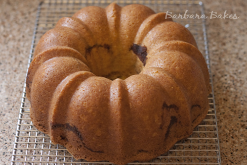 Sour Cream Cinnamon Coffee Cake Bundt