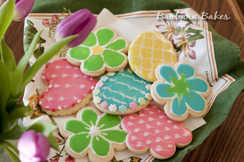 Sugar Cookies With Glace Icing Barbara Bakes