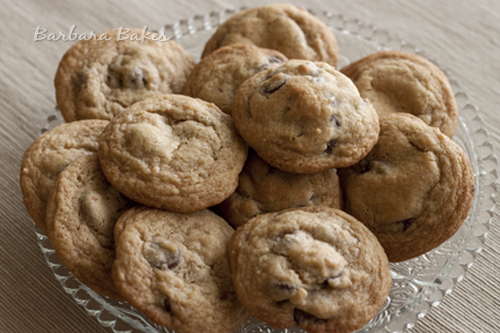 Thick chunky chocolate chip cookie recipe
