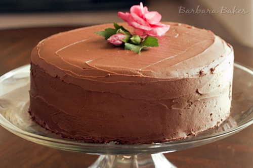 Perfectly Chocolate Cake with Perfectly Chocolate Frosting