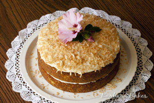 Carrot Cake Recipe No Icing: Tropical Carrot Cake With Coconut Cream Cheese Frosting