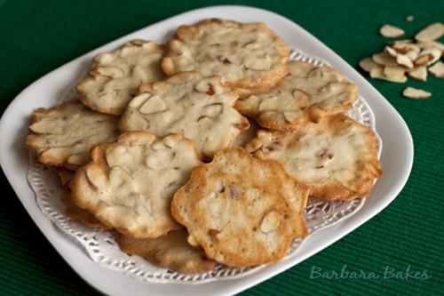 Almond Cookie Crisps Recipe Barbara Bakes