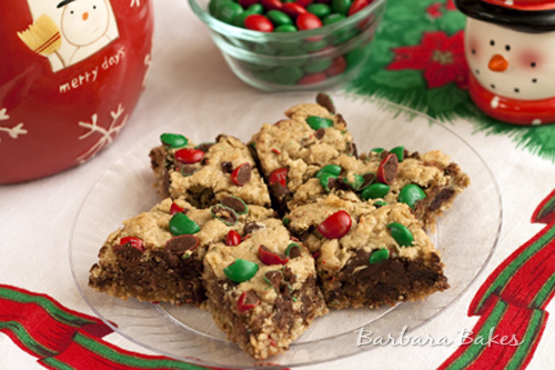 Recipe oatmeal bar cookies