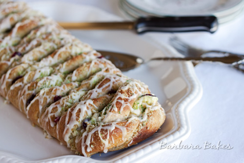 Citrus Cream Cheese Danish Braid