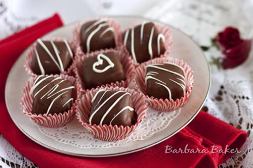 Chocolate Caramel Cheesecake Bites recipe
