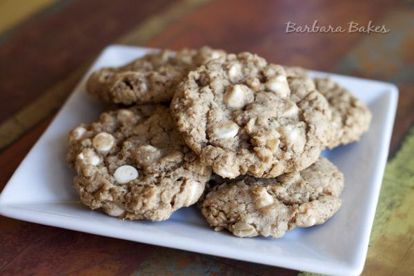 Chunky Biscoff White Chocolate Chip Cookie Recipe ...