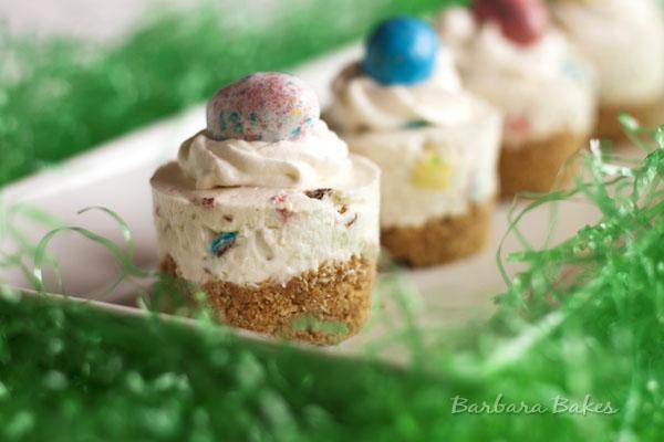 Robins Egg No-Bake Cheesecake