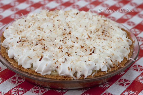 ... Coconut Lime Pie and found Cooks Illustrated's Lime-Coconut Cream