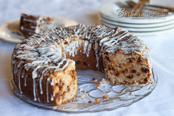 Snickerdoodle Coffee Cake Updated | BarbaraBakes.com
