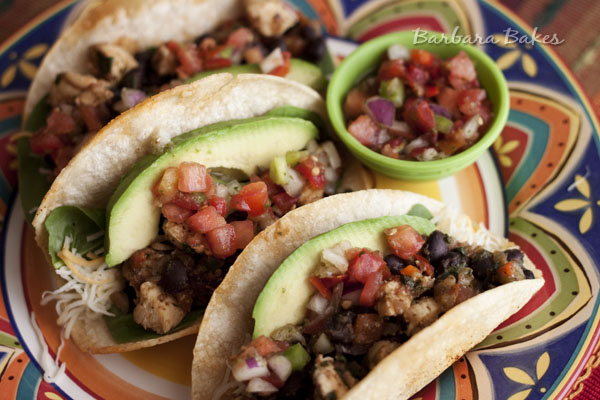 ... rating s chicken and black bean taco black bean tacos with corn