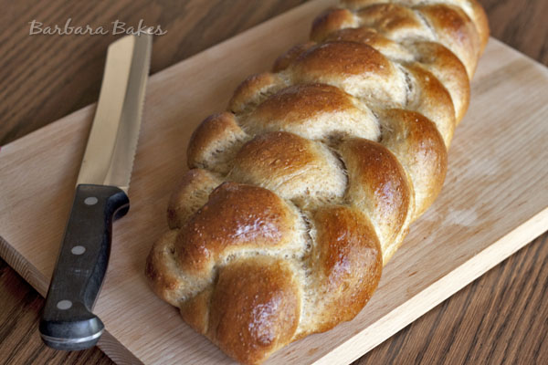 easy whole wheat challah recipe
