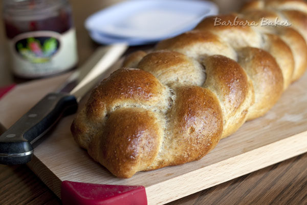 Whole Wheat Challah Recipe | Barbara Bakes