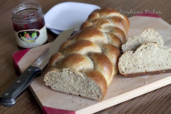 Whole Wheat Challah Recipe | Barbara Bakes