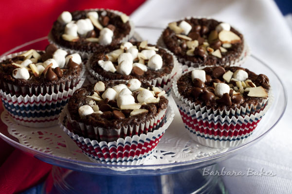 Rocky Road Brownie Bites