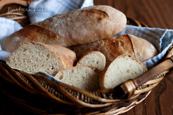 Julia Child's French Bread @BarbaraBakes