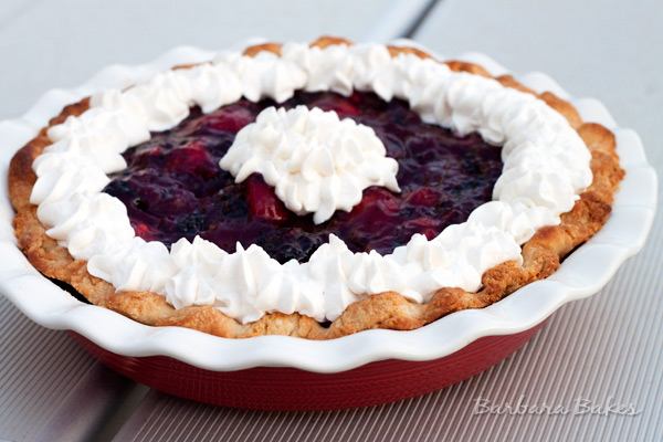 Fresh Triple Berry Pie