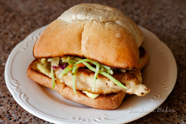 Chicken Piccata Sandwich
