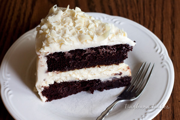 Chocolate Cheesecake Cake Recipe | Barbara Bakes