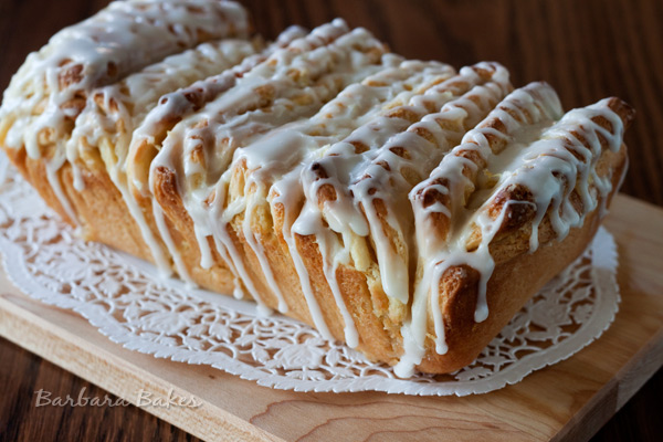Lemon Pull Apart Bread recipe from Barbara Bakes