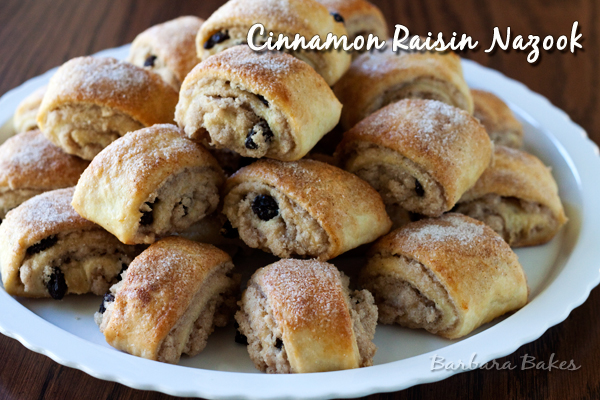Cinnamon Raisin Nazook Recipe | Barbara Bakes