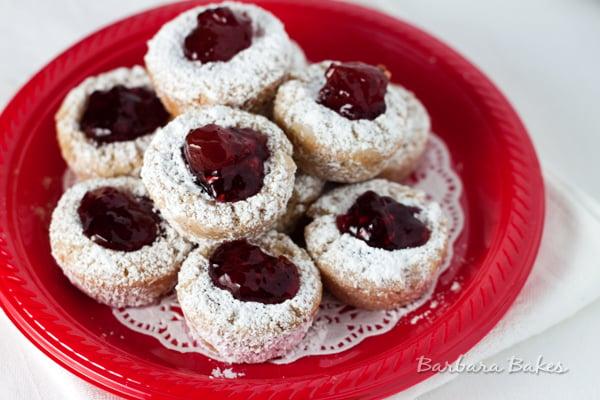 Jam Filled Pecan Snowball Cookie Recipe Barbara Bakes