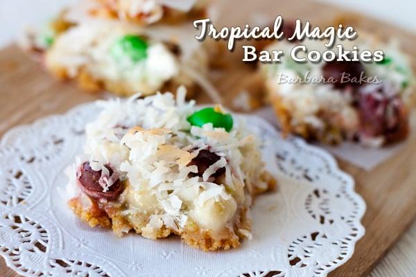 Tropical Magic Bar Cookies