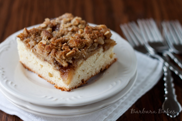 Holiday Apple Kuchen Barbara Bakes