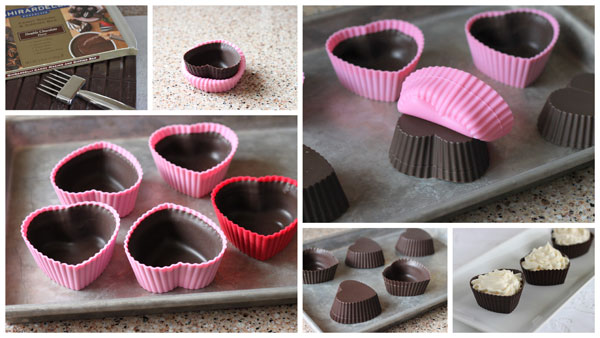 Chocolate Cheesecake Mousse Cups With Berry Compote Barbara Bakes