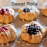 Blackberry and Cherry Kolaches