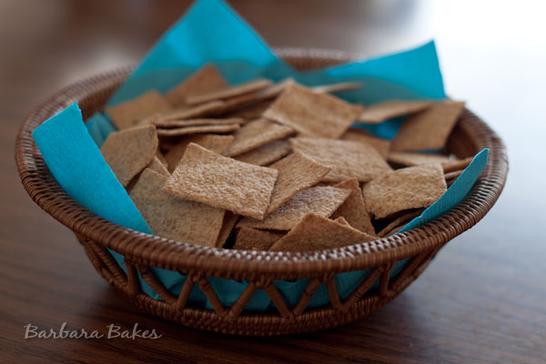 Homemade Wheat Thin Crackers Barbara Bakes