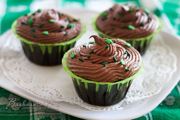 Boston Cream Cupcakes @Barbara Bakes