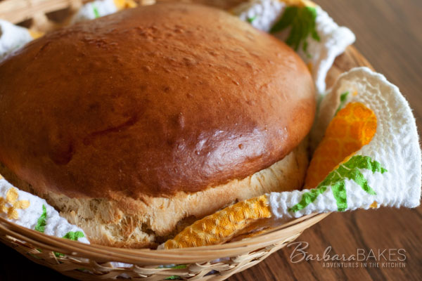 Hawaiian Sweet Bread Barbara-Bakes