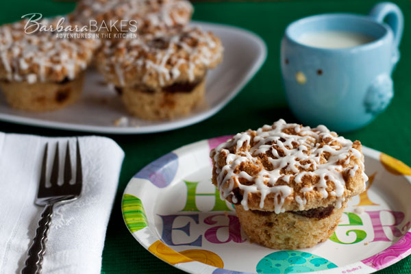 Simply Sinful Cinnamon Muffins Barbara-Bakes