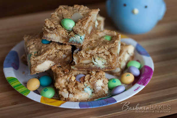 White Chocolate Macadamia Nut Blondie Barbara Bakes