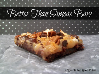 Better than Samoas Bars Love Bakes Good Cakes