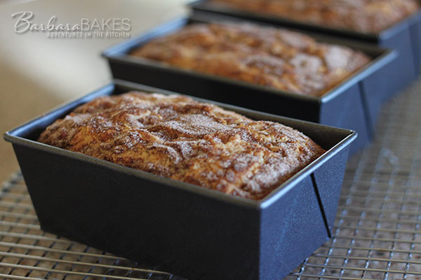 Snickerdoodle-Bread-in-pans-Barbara-Bakes