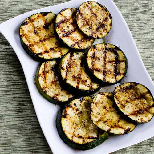 How To Grill Zucchini Perfect Every Time | Kalyn's Kitchen