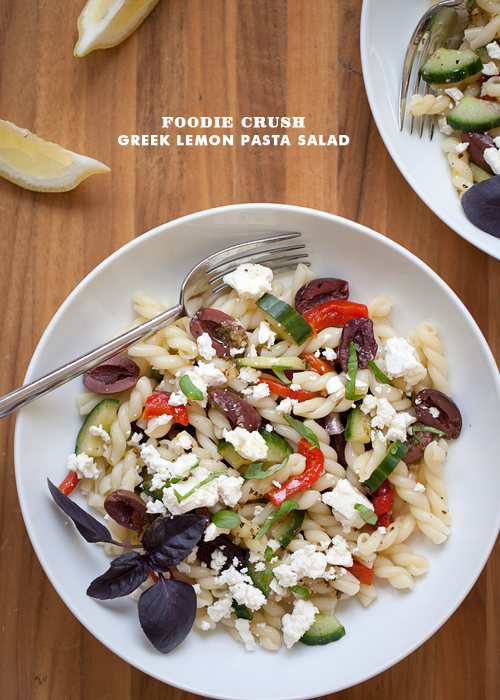 Foodie Crush Pasta Salad