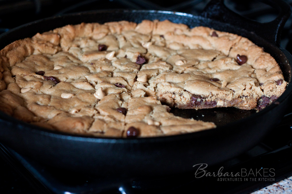 Peanut Butter Chocolate Chip Skookie | BarbaraBakes.com
