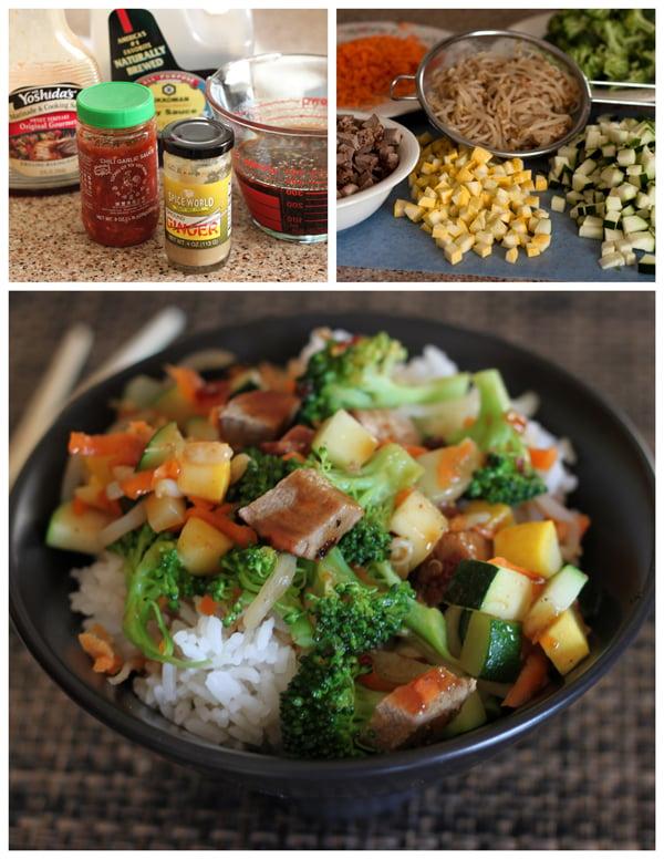 Pork Teriyaki Rice Bowl (Rumbi Bowls) BarbaraBakes.com
