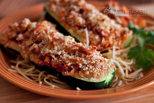 Sausage-Stuffed-Zucchini-Boats-Barbara-Bakes