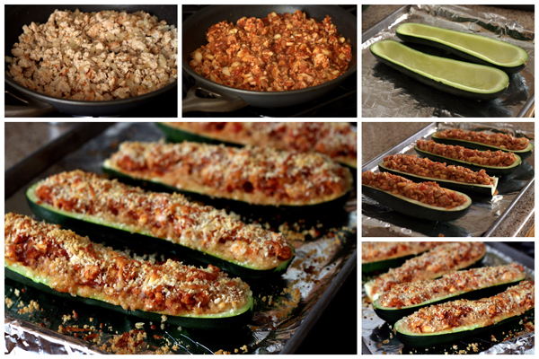 Sausage-Stuffed-Zucchini-Boats-Collage-Barbara-Bakes