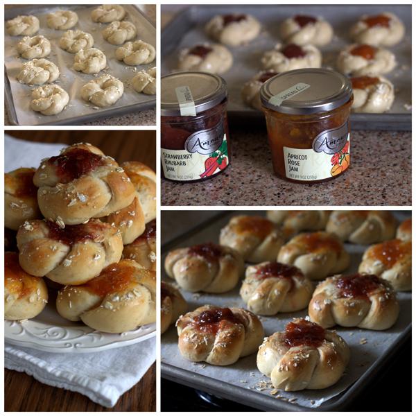 Honey-Oatmeal-Sweet-Rolls-Collage-Barbara-Bakes
