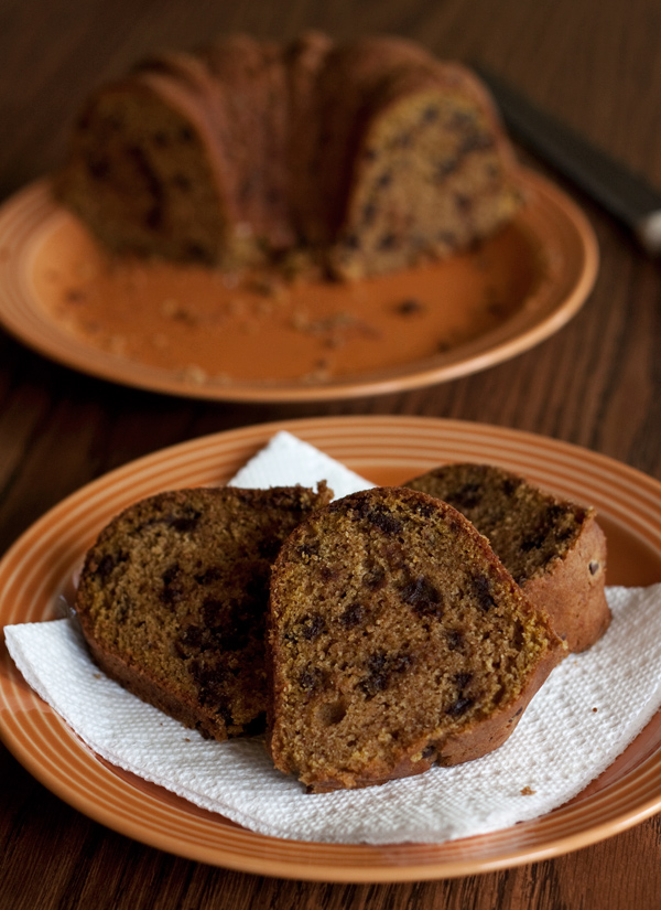 Pumpkin Chocolate Chip Bundt Cake Barbara Bakes