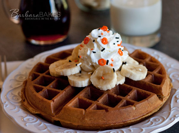 Pumpkin-Yeast-Waffles-2-Barbara-Bakes
